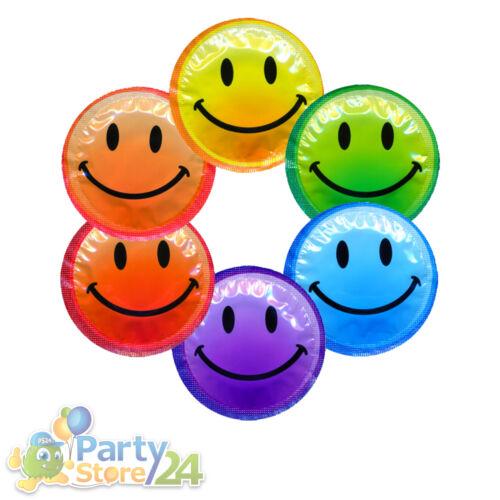 Smiley Kondome Junggesellinnenabschied Hochzeit Geburtstag Party Fasching Deko