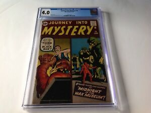 JOURNEY-INTO-MYSTERY-74-CGC-4-0-WAX-MUSEUM-STEVE-DITKO-JACK-KIRBY-MARVEL-COMICS