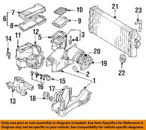 Housing 2 8L AUDI 90 Evaporator 893091720A 93 95 V6 OEM qqwI8R