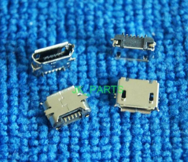 100PCS Micro USB mini 5Pin Data Sync Charge Charger Charging Port Connector Jack