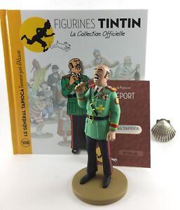 Collection Officielle Figurine Tintin Moulinsart 108 Général Tapioca