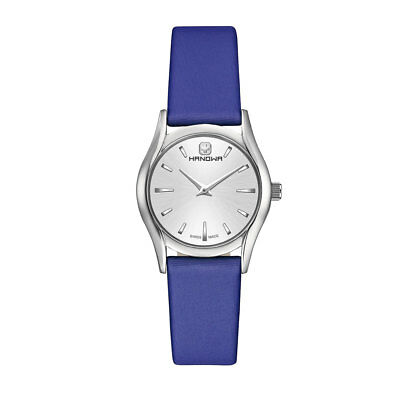 Hanowa Women's Watch Opera Satin 16-6035.04.001.03 Analog Leather, Textile Blue