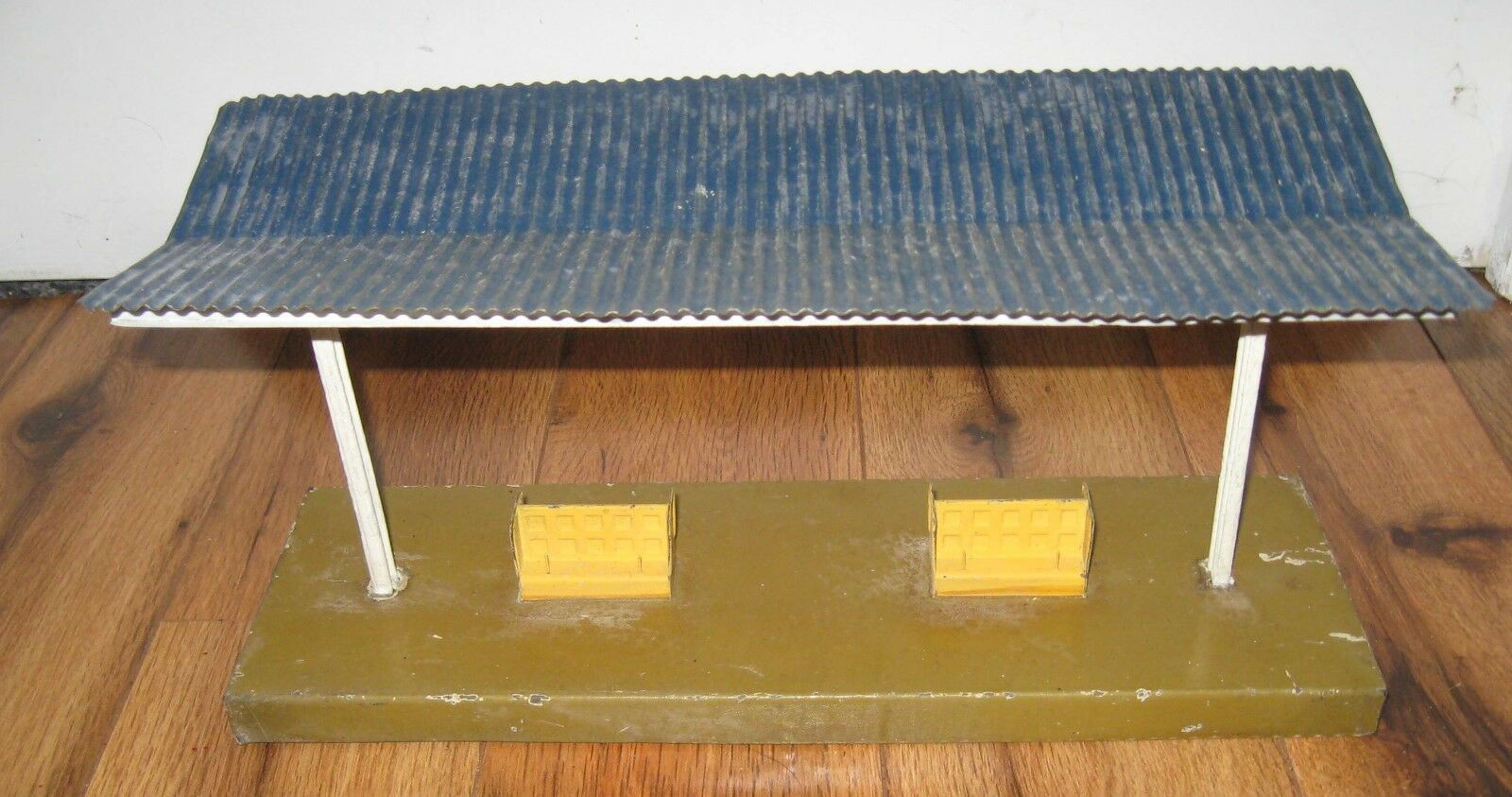 Antique Marklin Train Platform Canopy Station Vtg German Bing Fandor Bub Kibri
