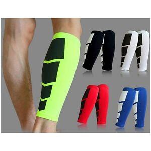 Unisex-New-Sports-Leg-Calf-Leg-Brace-Support-Stretch-Sleeve-Compression-RunningA