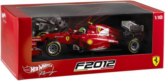 Ferrari F2012 Formula 1 2012 Felipe Massa Hotwheels Modelo 1 18  X5521