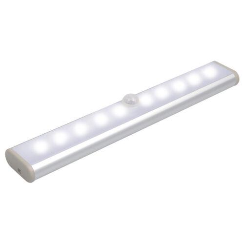 1//3X Battery PIR Montion Sensor LED Closet Light Cabinet Wardrobe Night Lamp US