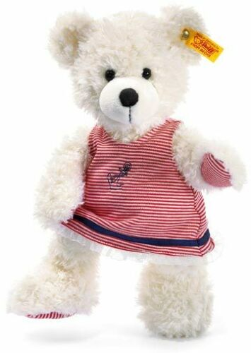 Steiff Lotte Teddy Bear In Dress EAN 012303