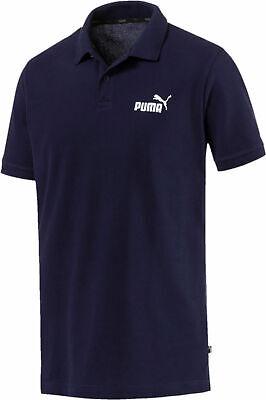 Puma Herren Freizeitshirt Sportshirt Polohemd Essentials