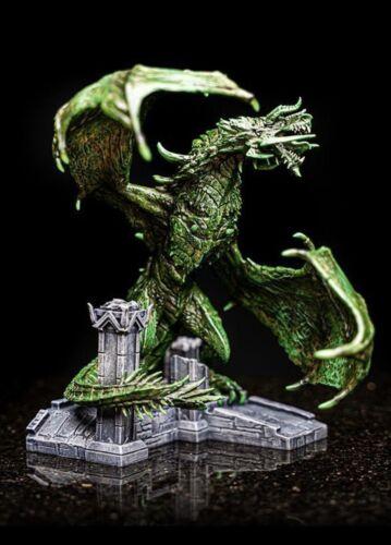 "Kaalgrontiid Demonspire Dragon Statue Figure 8/"" Skyrim The Elder Scrolls Online"
