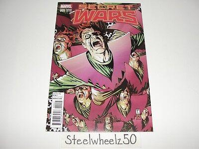 Marvel Secret Wars #5 Coker Variant NM 2015