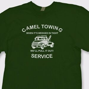 a5d3df85b15 Image is loading Camel-Towing-Service-Crude-Truck-Drivers-T-Shirt-