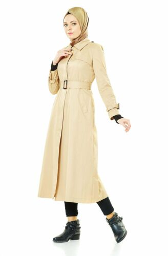 cape Tesettür V mantel trenchcoat 674 Trençkot Hijab W4O6A7qO