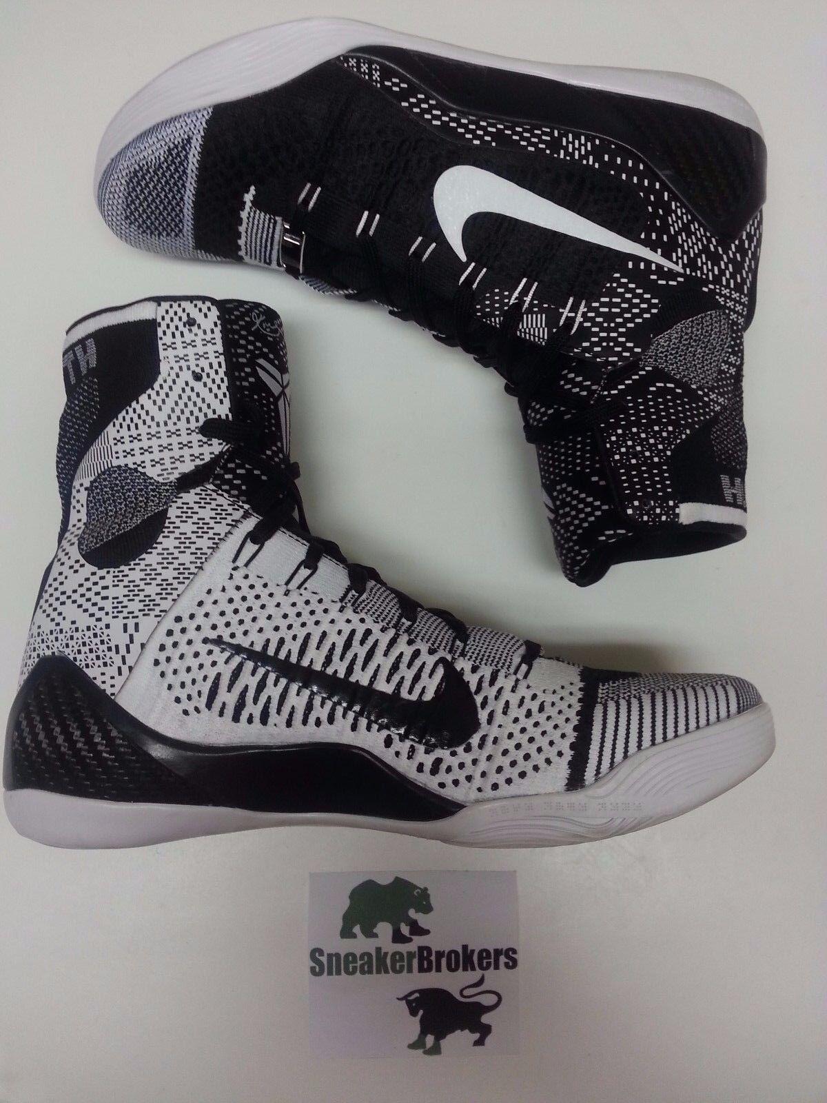 Nike Kobe 9 IX Elite BHM size 9.5. 704304-010. asg X 10 beethoven prelude FTB