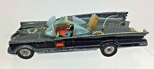 "VINTAGE CORGI TOYS 267 BATMAN BATMOBILE 1960s 1:43 5.4"" DIE CAST per restauro"
