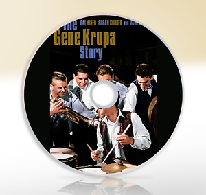 The-Gene-Krupa-Story-1959-DVD-Classic-Biography-Movie-Film-Sal-Mineo