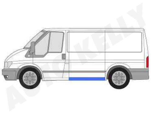 Seitenschweller Links Ford Transit 00-14 Kurzer Radstand