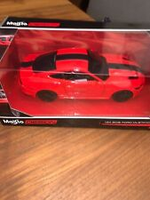 Maisto 1:24 2015 FORD MUSTANG GT DIE-CAST Rosso 31369
