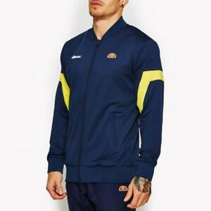 Ellesse-Track-Top-Jacket-Mens-Tennis-Navy-Montagu-Medium-New