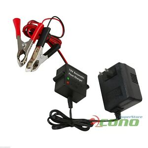 12V-Volt-Automatic-Car-Battery-Float-Trickle-Charger-Car-Boat-Direct-AC-Charge-F
