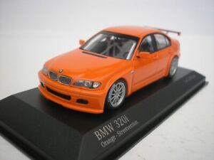 Detalles De Bmw 320i E46 4 Calle Version 2005 Naranja 1 43 Minichamps 400052400 Nuevo
