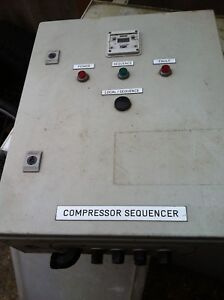 Compressor Sequencer Panel - Milton Keynes, Buckinghamshire, United Kingdom - Compressor Sequencer Panel - Milton Keynes, Buckinghamshire, United Kingdom