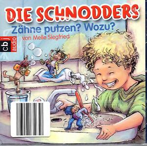Die-Schnodders-Zaehne-putzen-Wozu-CD-NEU-OVP-B-WARE