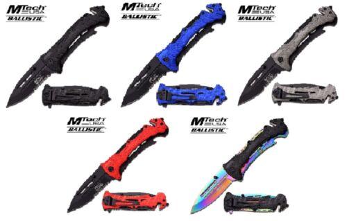 MTech USA Taschenmesser Klappmesser Rettungsmesser MT-A847