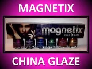 6-PACK-CHINA-GLAZE-MAGNETIX-MAGNETIC-NAIL-POLISH-GREEN-BLUE-GOLD-RUST-MAGENTA