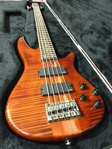 ibanez 5 string bass guitar neck thru emg pickups active preamp best 4 the money ebay. Black Bedroom Furniture Sets. Home Design Ideas
