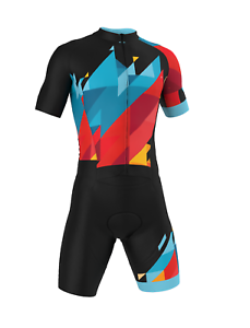 PRO Short Sleeve 'SUMMIT' Cycling Road Suit (Skinsuit) Made in  by GSG