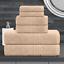 De-Lujo-cero-Twist-600GSM-6-Pc-Conjunto-de-toallas-de-bano-Juego-de-toallas-de-mano-Toalla-de-Bano miniatura 8
