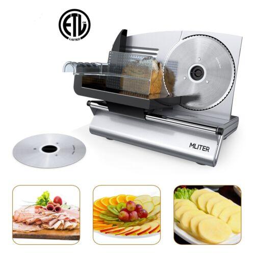 Allesschneider Brotschneidemaschine Kompakt 150 Watt Metall Käse Wurstschneider  t5PPL