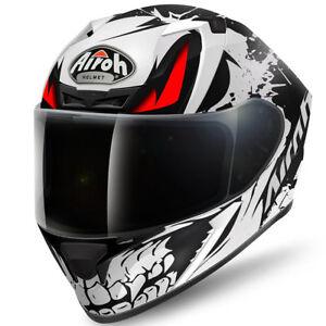 Airoh-Valor-Hueso-Mate-Pinlock-Ready-Motocicleta-Moto-Casco-Oro-Acu