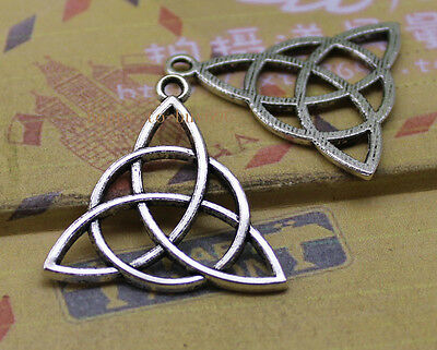 5-30pcs Tibet silver triangle of fashion and personality charm pendant