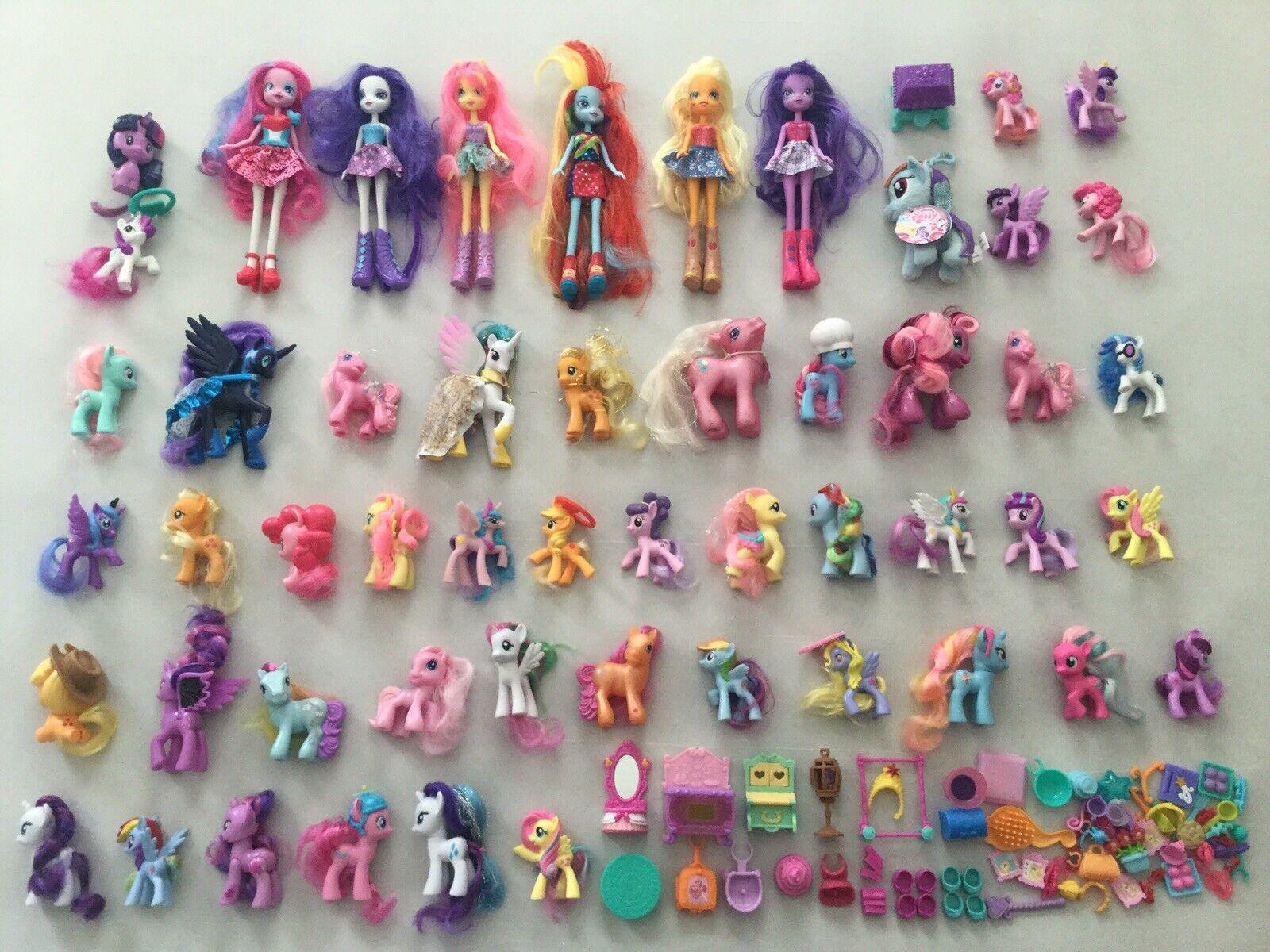 My Little Pony Equestria Horses Dolls Lot