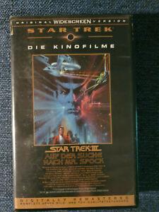 Star-Trek-III-1997-VHS-guter-Zustand-104-Min-William-Shatner