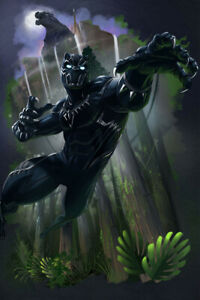 Black Panther Movie Poster For Sale