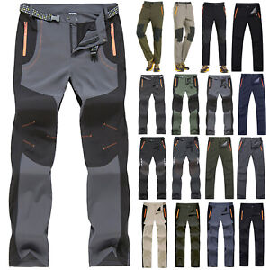 Mens-Waterproof-Hiking-Climbing-Trousers-Trekking-Tactical-Outdoor-Sport-Pants