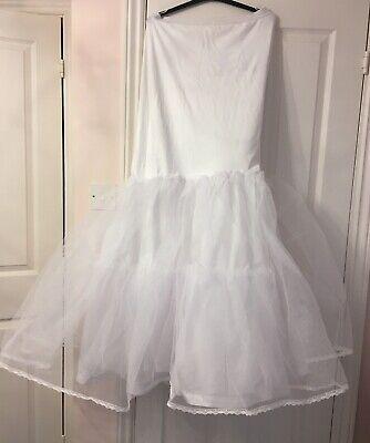 Brides Underskirt A-line From Davids Bridal Size M Per Vincere Una Grande Ammirazione