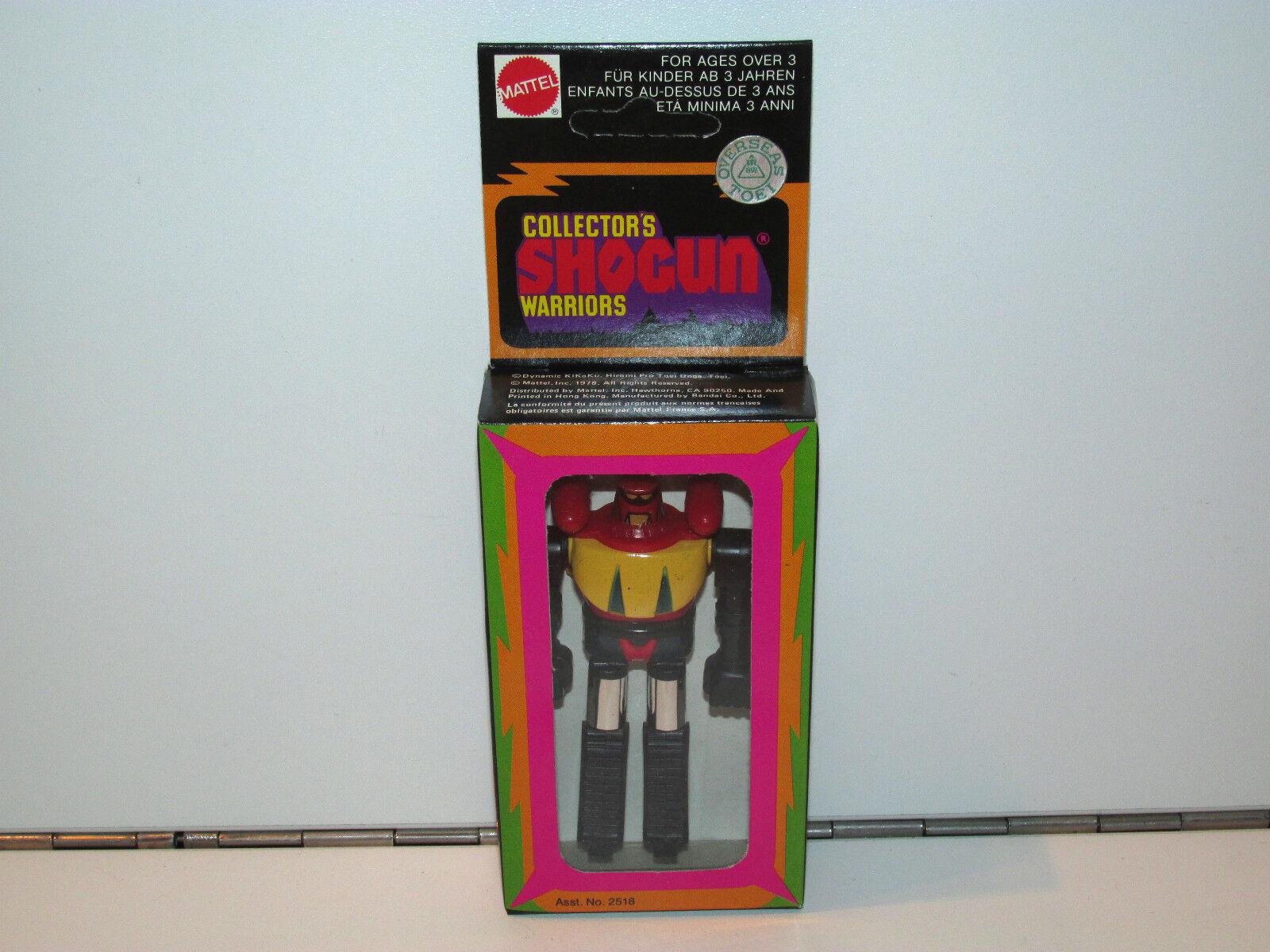 SHOGUN WARRIORS COLLECTOR'S SERIES 3  POSEIDON MIB NRFB CASEFRESH 1970s MATTEL