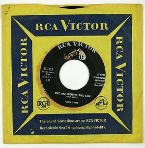 HANK SNOW The Man Behind The Gun/ I'm Asking For A Friend 7IN 1960 COUNTRY NM-