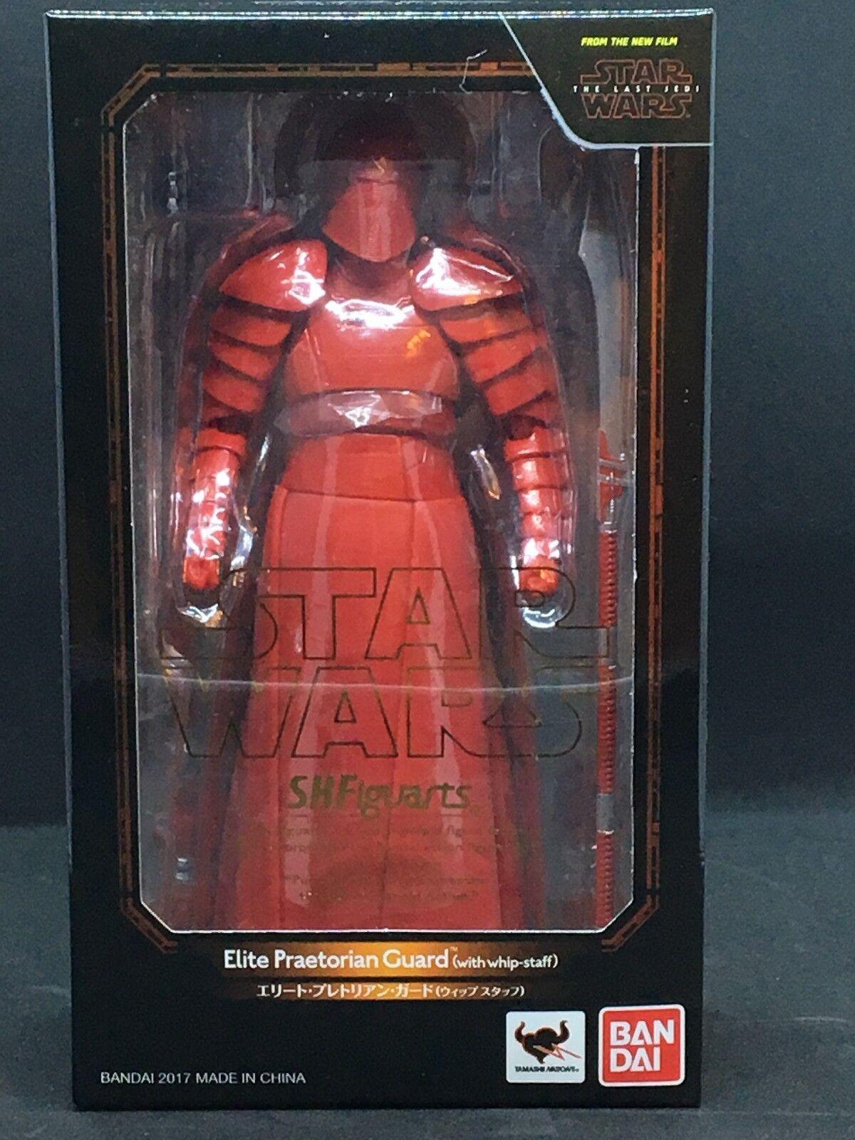 Bandai S.H. Figuarts Estrella Wars-elite Guardia pretoriana látigo personal la última Jedi