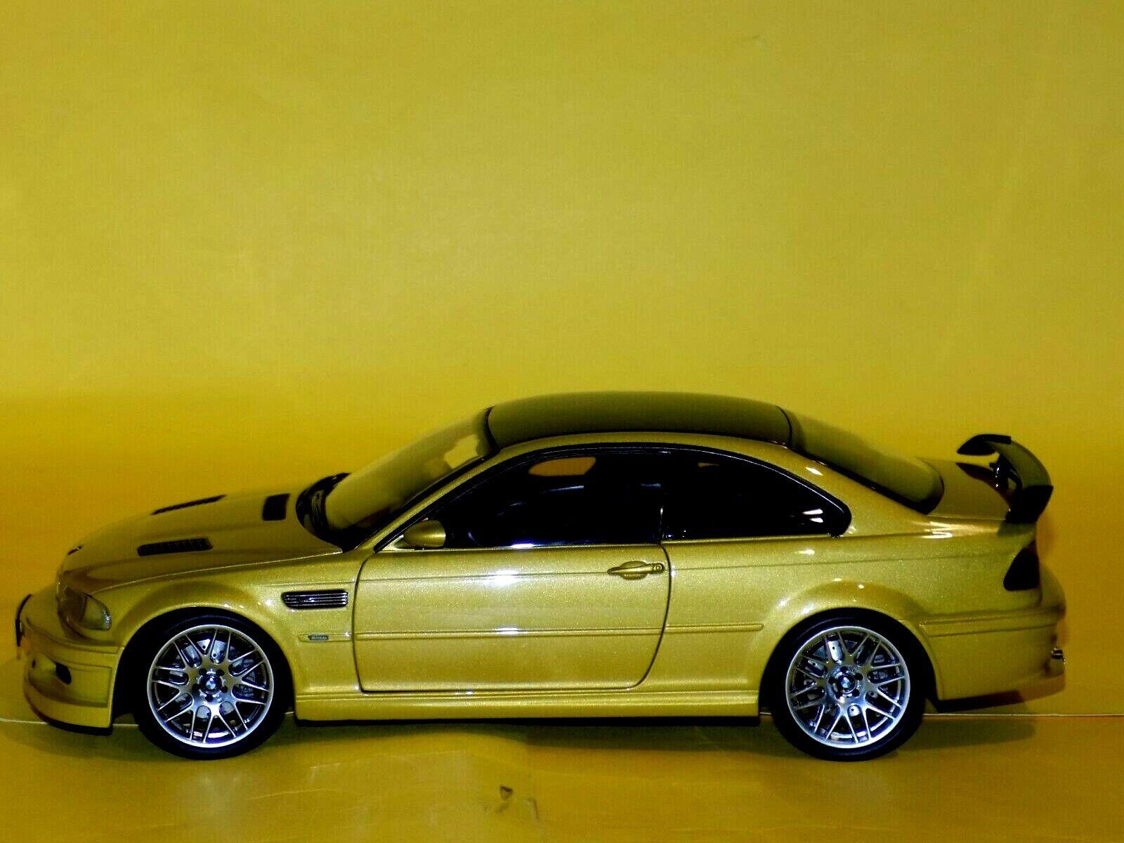 Los mejores precios y los estilos más frescos. BMW 3 serie M3 GTR E46 E46 E46 Kyosho 08507Y 1 18  promociones de equipo