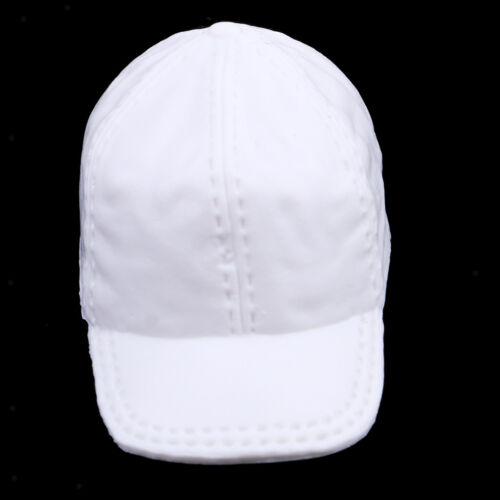 1//6 Scale White Baseball Cap for Phicen Hot Toys 12/'/' Female Action Figures