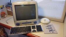 iMac PowerPC G3 500MHz Blue 320MB RAM, OSX 10.4.11 w/ Airport, Keyboardmousepad