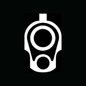 1911-45-Barrel-Sticker-Car-Truck-Vinyl-Decal-Laptop-Gun-Pistol-Ammo-Arms-Gift