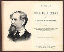 Biography Life of Charles Dickens (Christmas Carol, Oliver Twist, etc) 1870