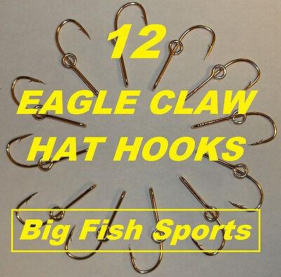 12 Eagle Claw Bonnet Crochet Hat pin//Cravate Fermoir Plaqué Or Poisson Crochet Hat pins #155 10