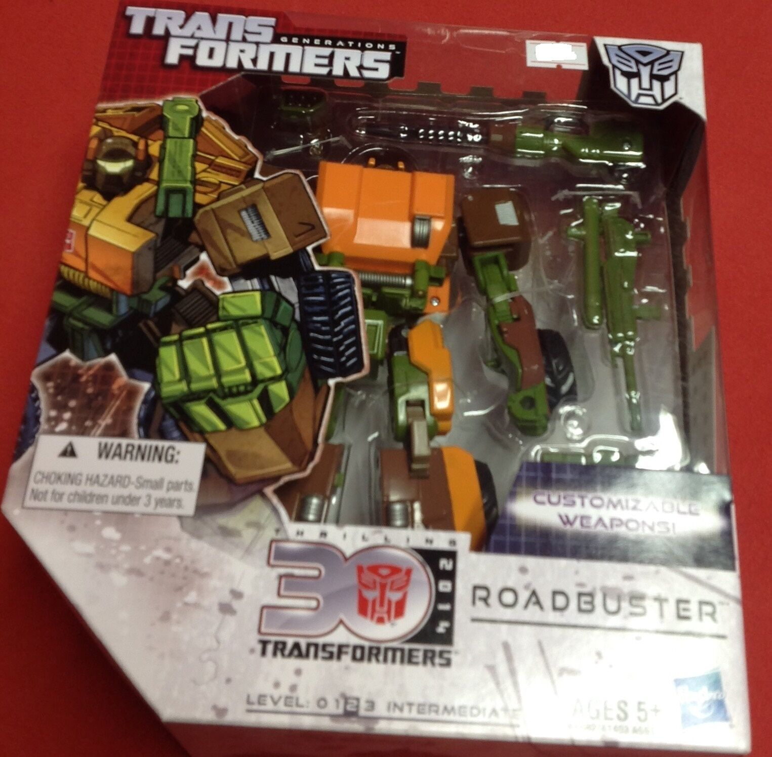 Roadbuster Transformers Generations IDW Comic Voyager G1 2013 2014