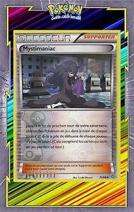 Carte Pokemon MYSTIMANIAC 75//98 Reverse XY7 Origines Antiques FR NEUF